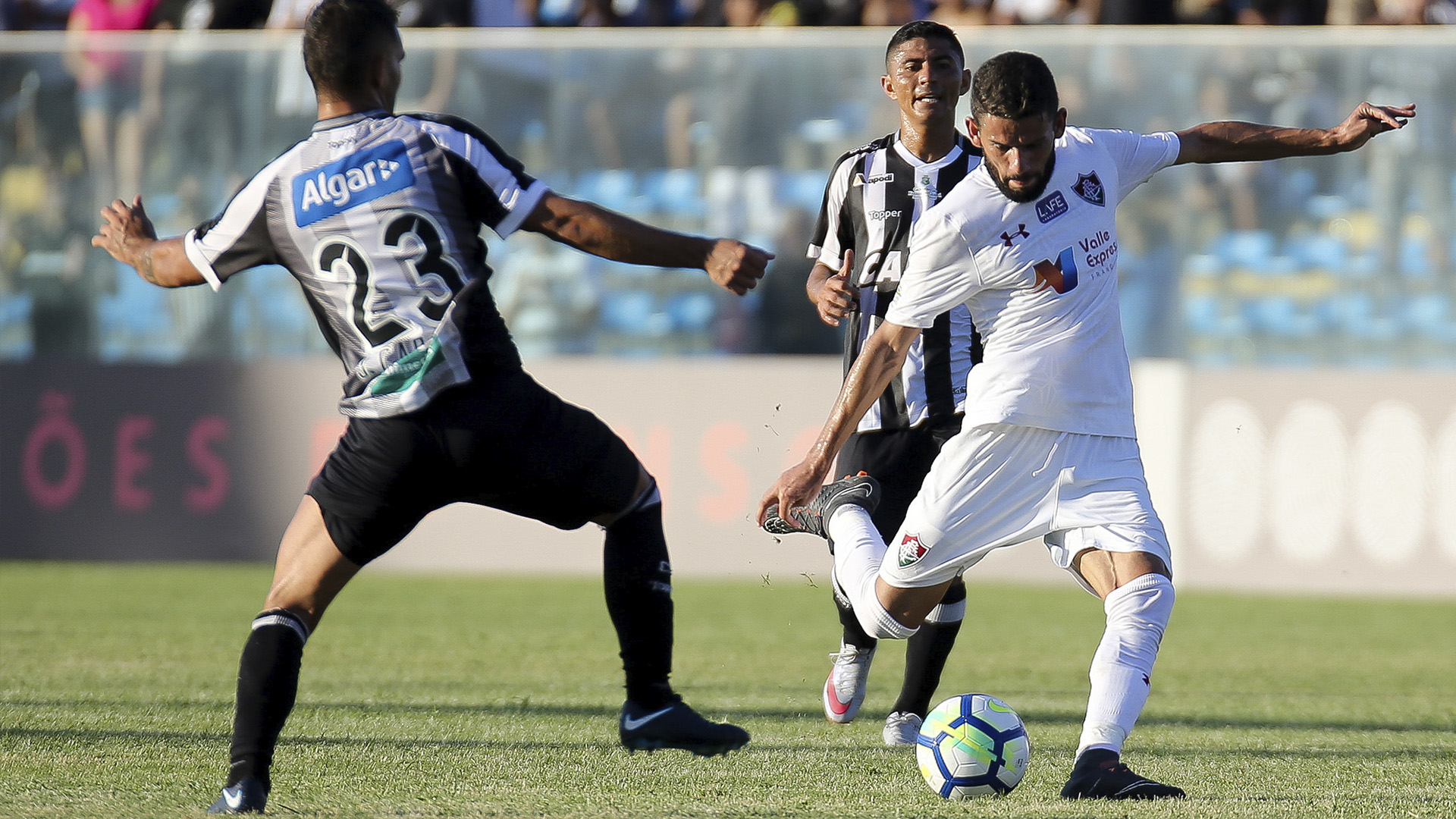 Jadson Fluminense x Ceará Brasileirão 28 07 18