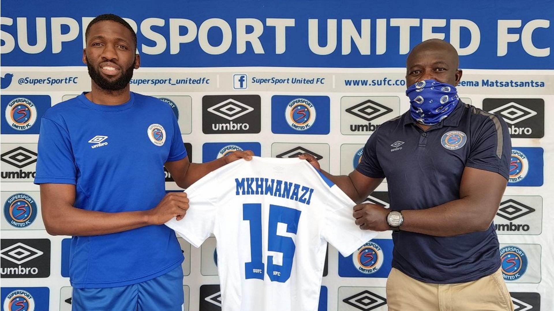 Mkhwanazi: SuperSport United sign Bafana Bafana defender