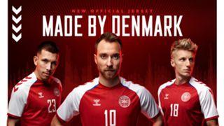 Denmark Euro 2020 kit Hummel