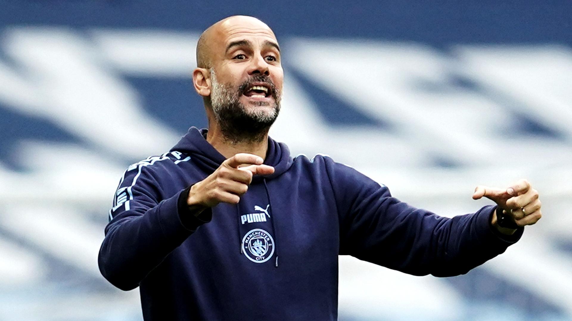 """Premier League - Guardiola : """"Je me sens soutenu à Manchester City"""""""