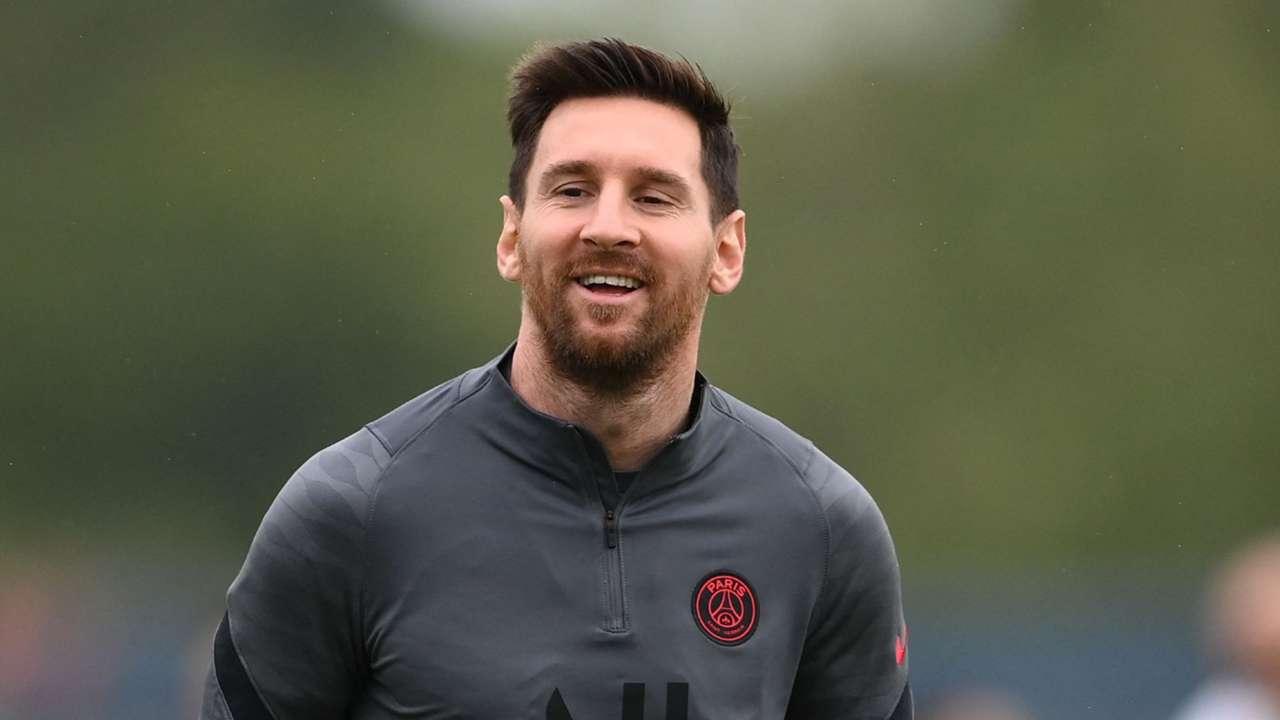 Lionel Messi PSG training 2021-22