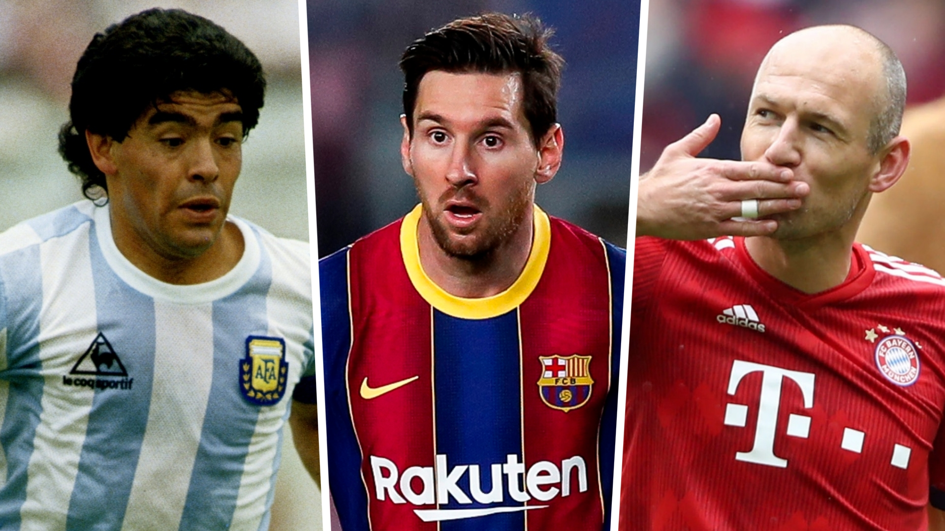 Messi, Maradona & the best left-footed players of all time
