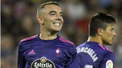 Iago Aspas Celta Vigo La Liga 2018