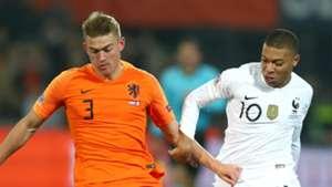 Mbappe De Ligt Netherlands France