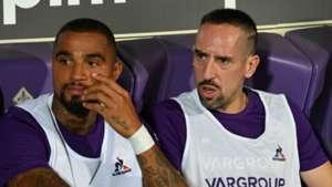 Kevin-Prince Boateng, Franck Ribery - Fiorentina