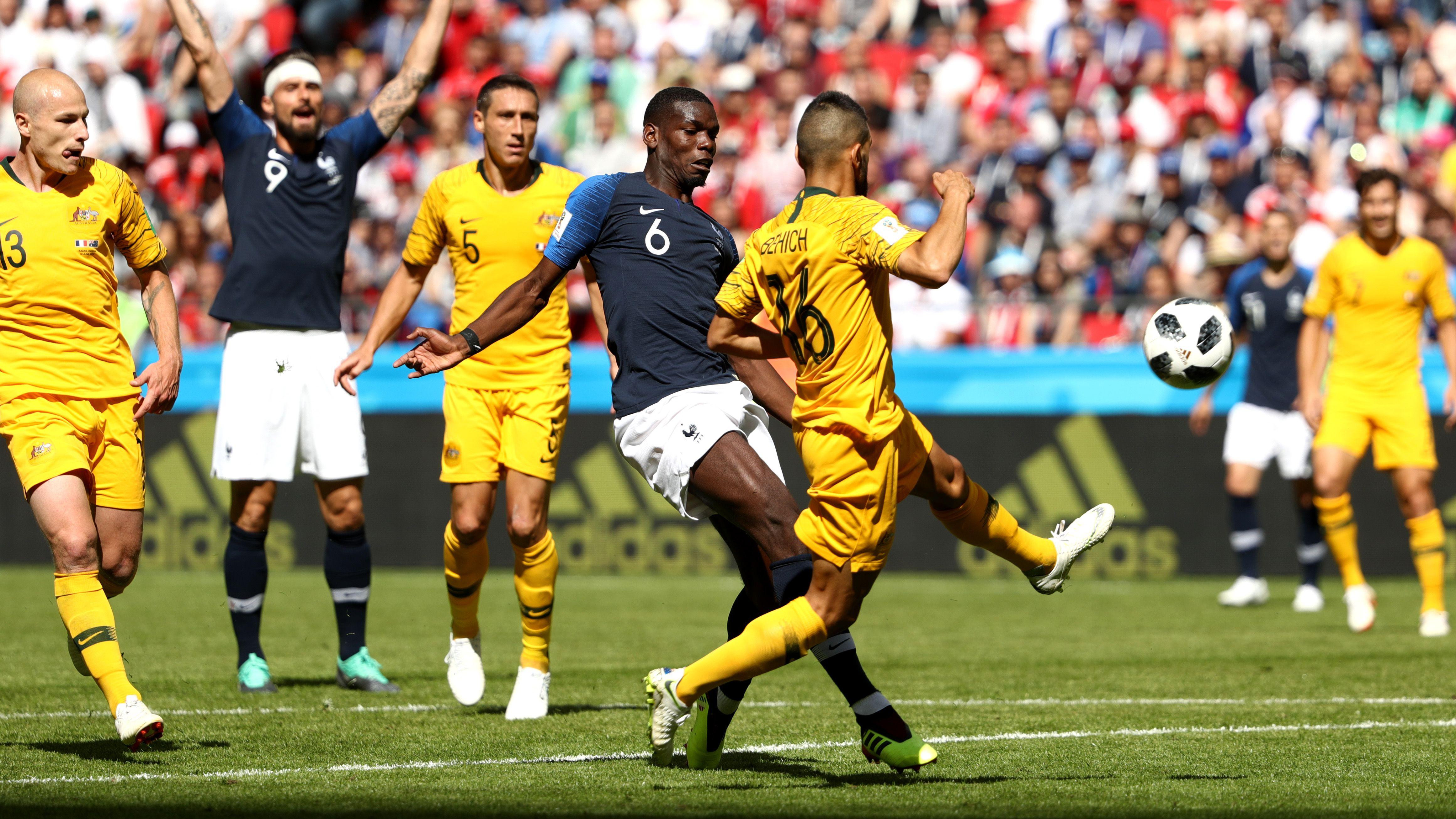 Pogba Behich France Australia