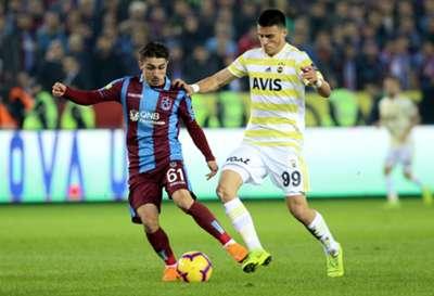 Abdulkadir Omur Eljif Elmas Trabzonspor Fenerbahce Turkish Super League 11/25/18