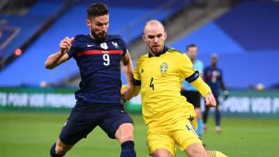 Olivier Giroud France Sweden Nations League 17112020