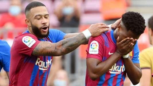 FC Barcelona: Ansu Fati feiert traumhaftes Comeback nach zehnmonatiger Verletzungspause | Goal.com