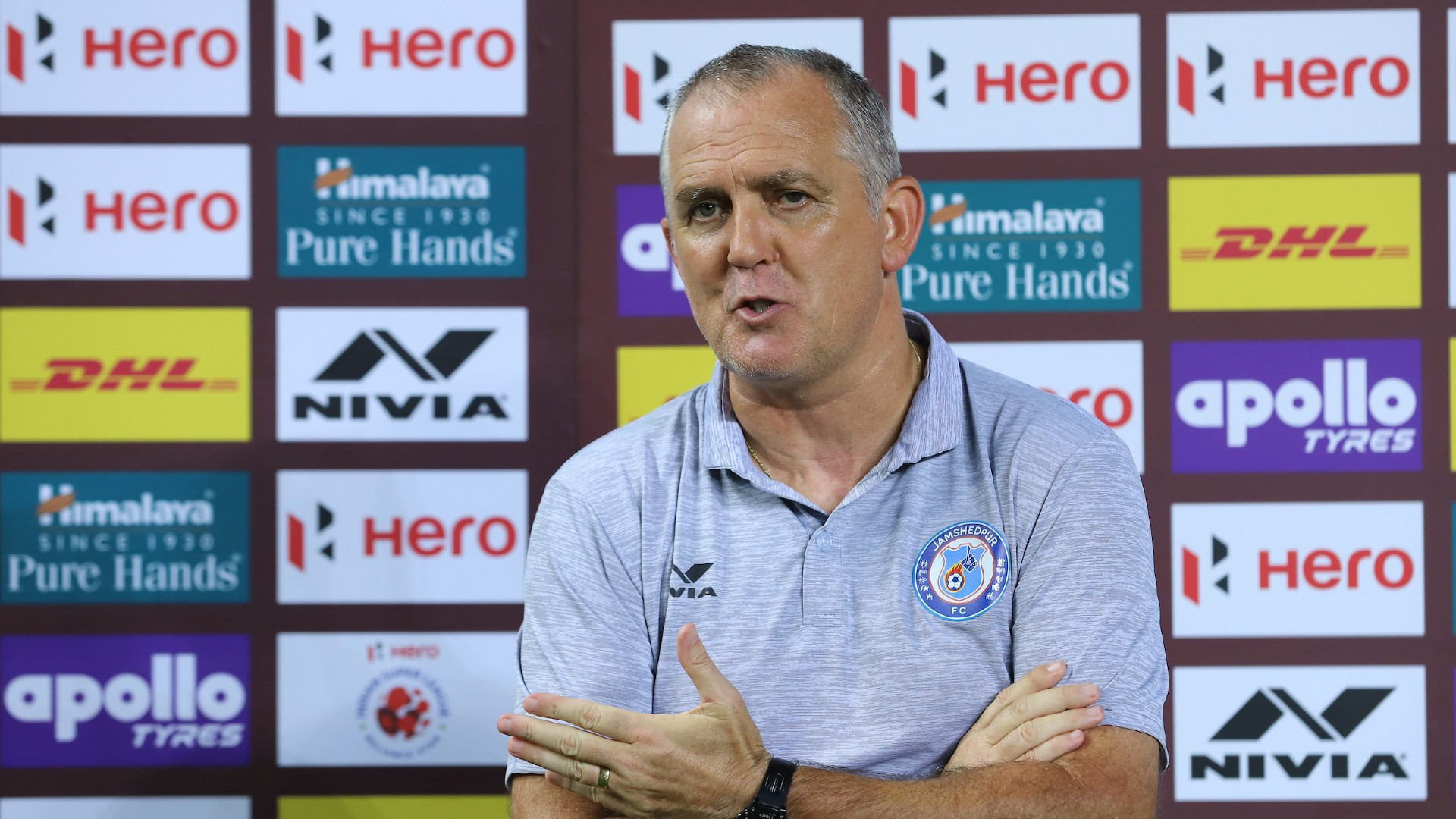 Owen Coyle after disallowed goal against Hyderabad FC - Jamshedpur FC were robbed!