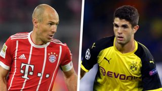 Arjen Robben Christian Pulisic Split