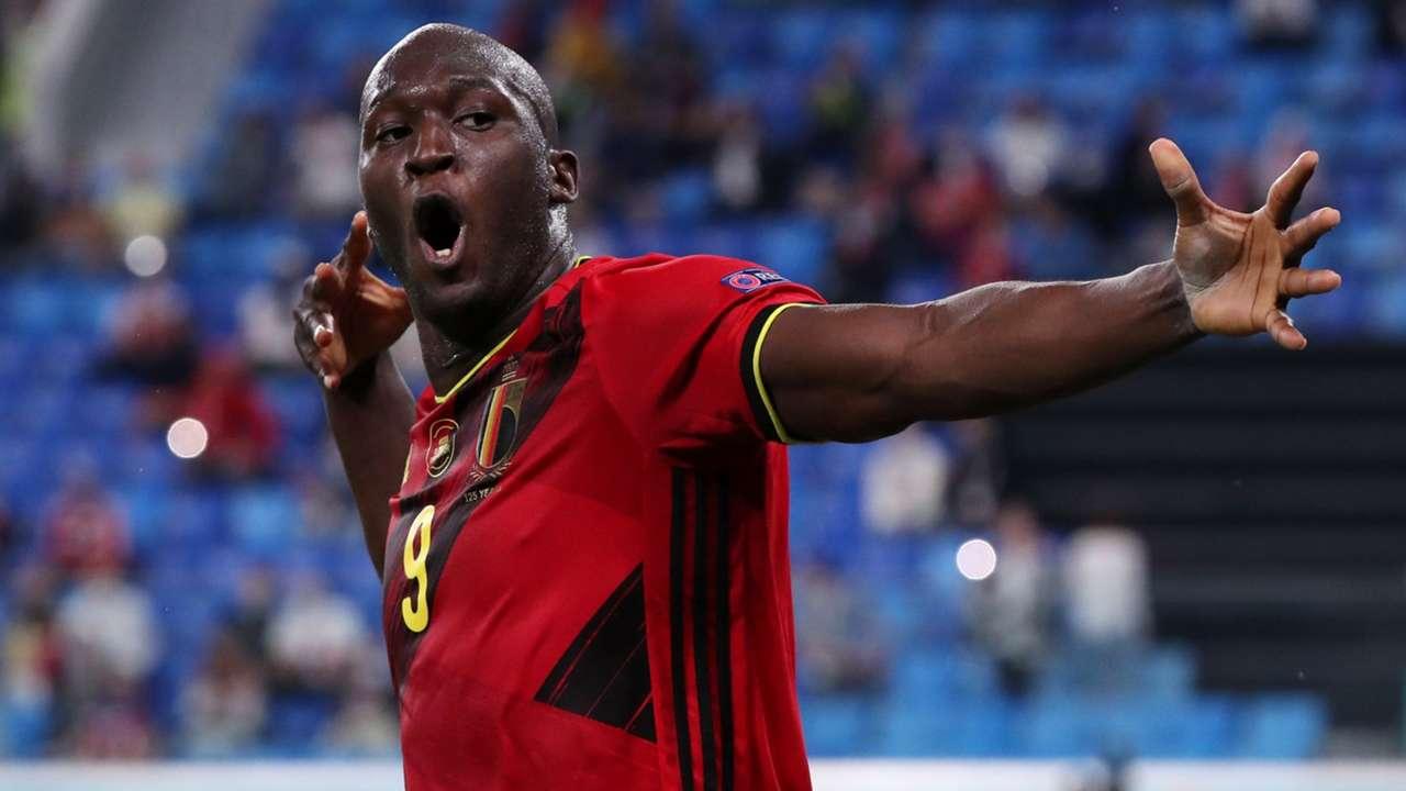 Romelu Lukaku Belgium 2021