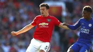Harry Maguire Man Utd Leicester