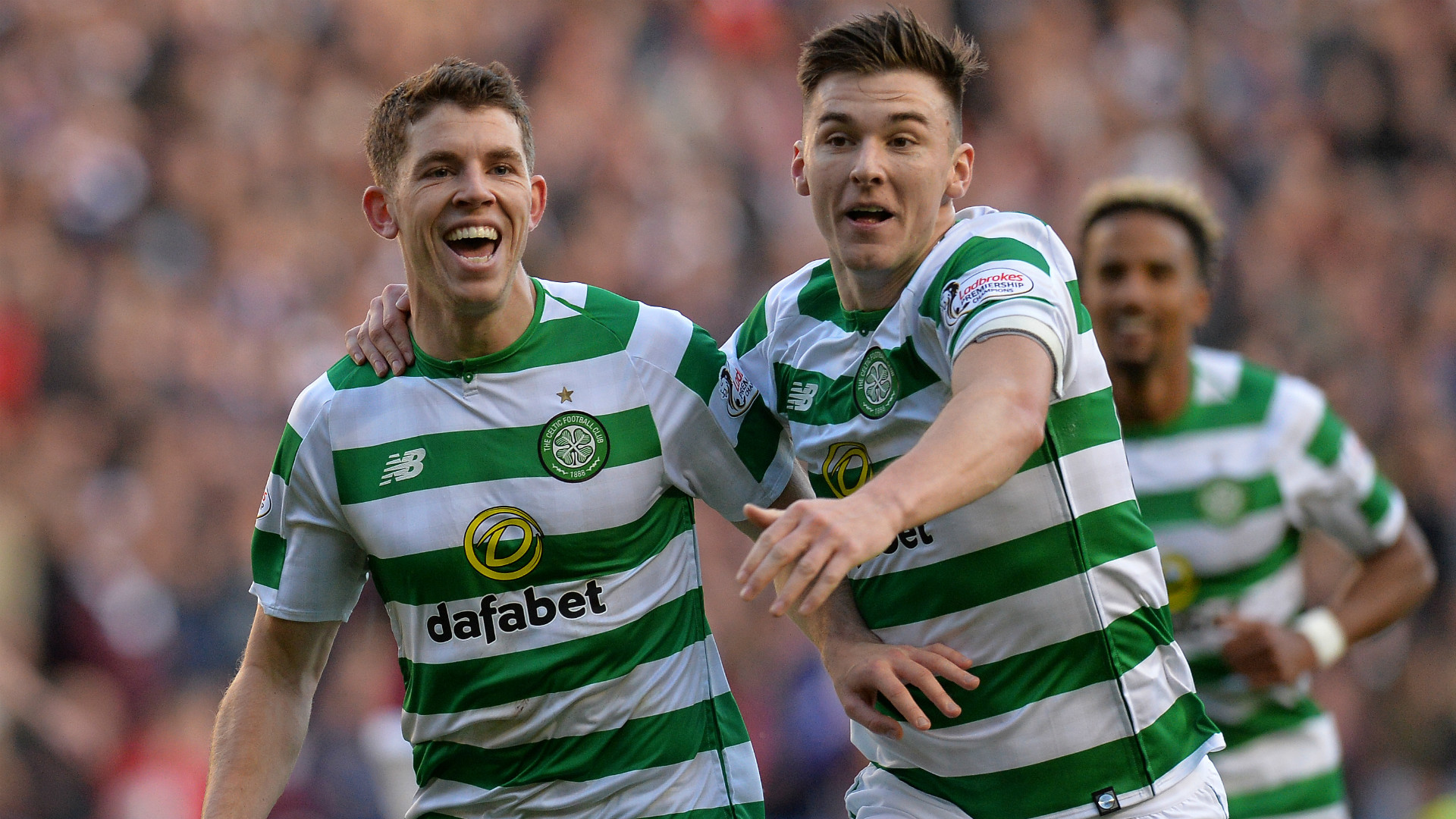 Ryan Christie Kieran Tierney Celtic 2018-19