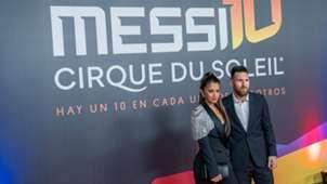 Antonella Roccuzzo Lionel Messi Cirque Du Soleil