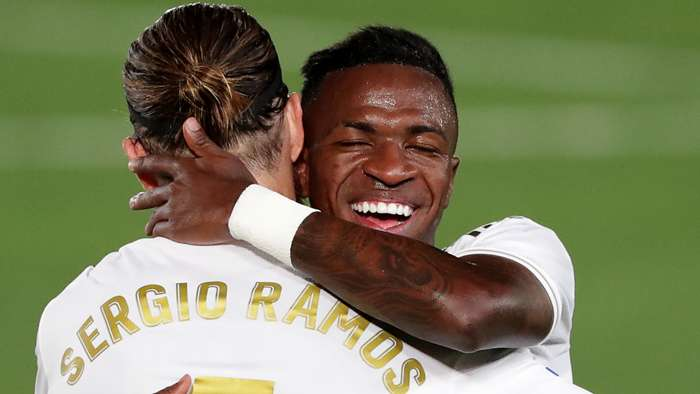Vinicius Jr, Sergio Ramos, Real Madrid