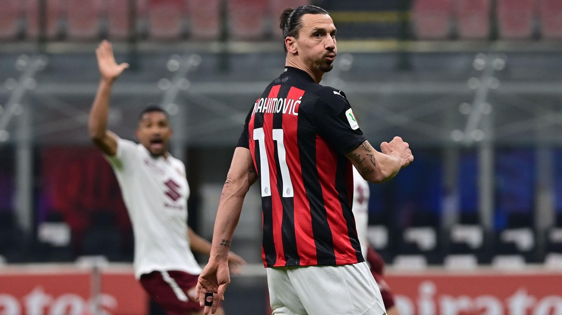 Milan-Torino, Ibrahimovic in campo dopo 51 giorni: 45' per ricominciare |  Goal.com