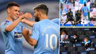 Man City Premier League restart GFX