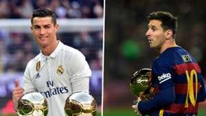 Ronaldo Messi Ballon d'Or