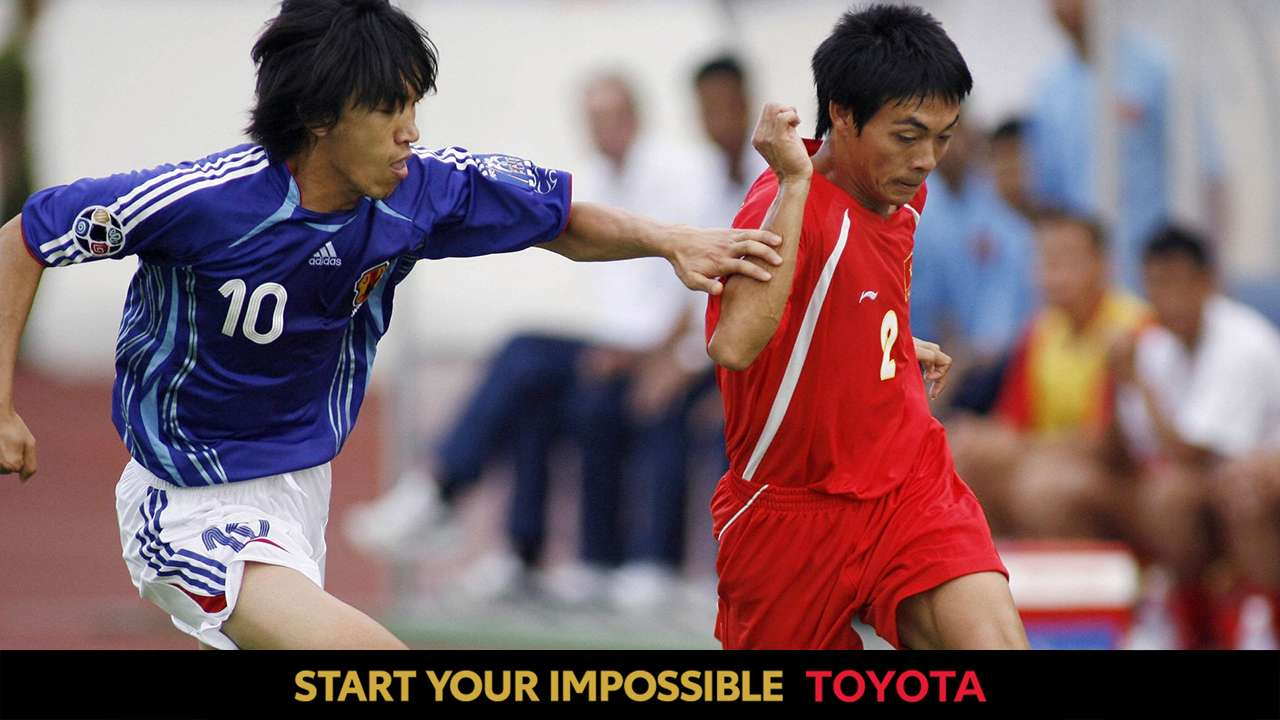 TOYOTA Phung Van Nhien vs Nakamura at the 2007 Asian Cup