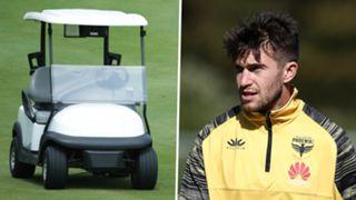 Golf Cart, Tim Payne