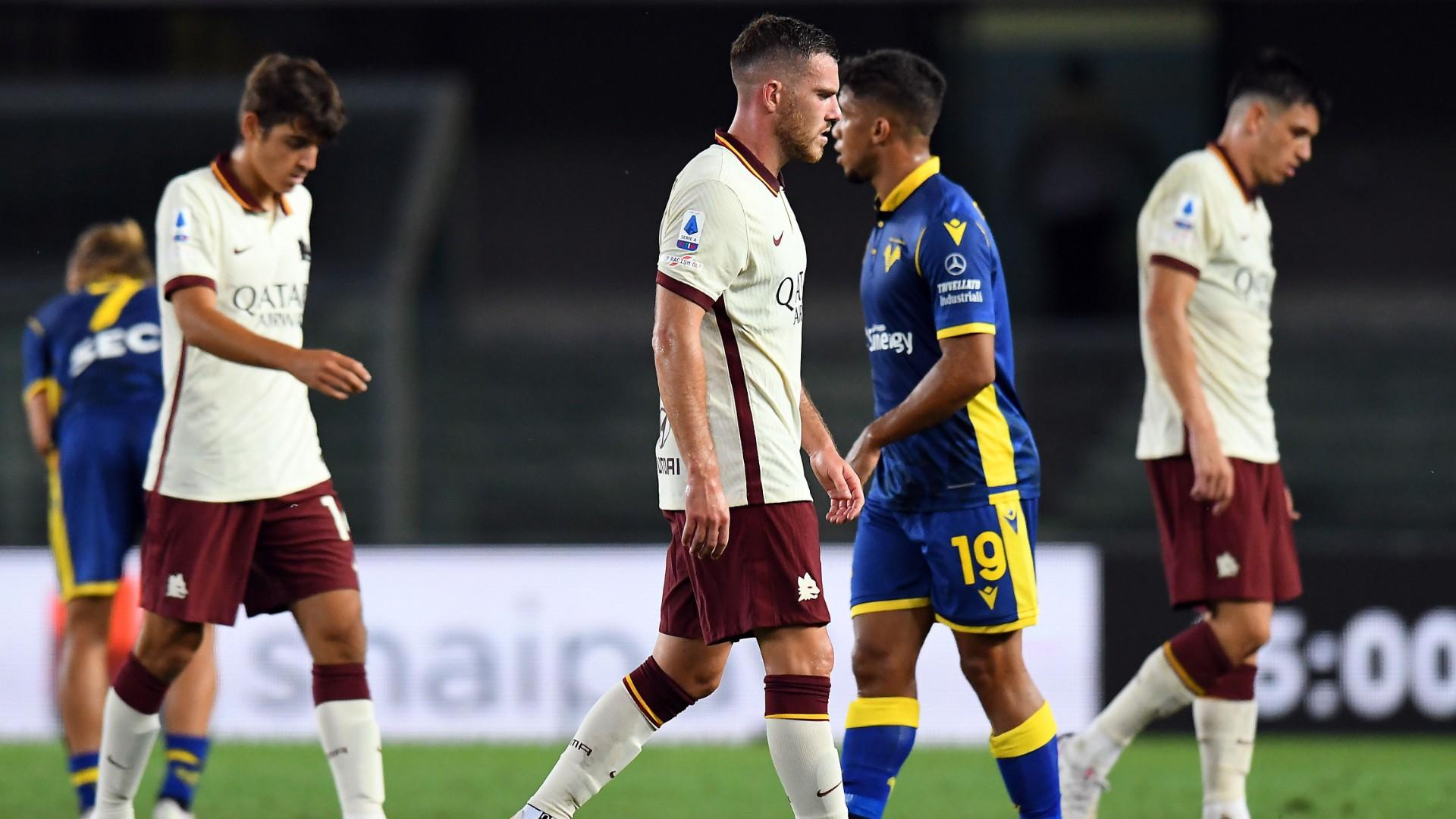 Resmi As Roma Dinyatakan Kalah Wo Hellas Verona Dihadiahi Kemenangan 3 0 Goal Com