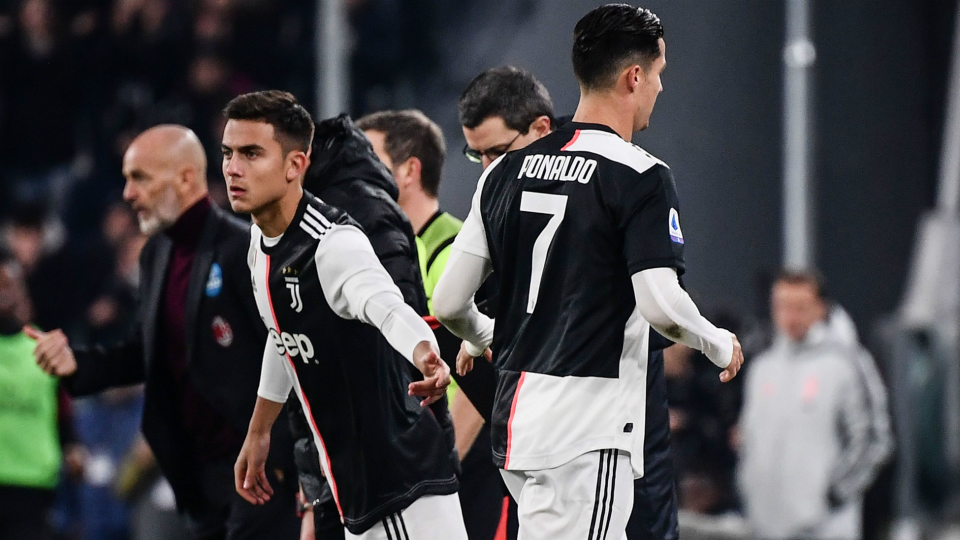 Dybala Ronaldo Juventus Milan