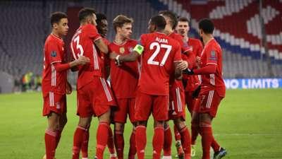 Bayern Munih celebration