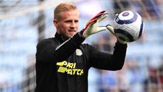 Kasper Schmeichel Leicester City 2020-21