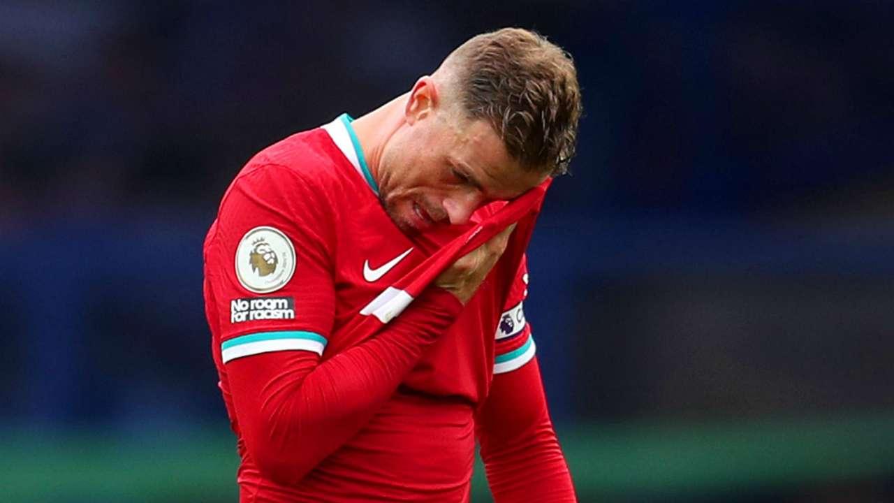 Jordan Henderson Liverpool Everton 2020-21