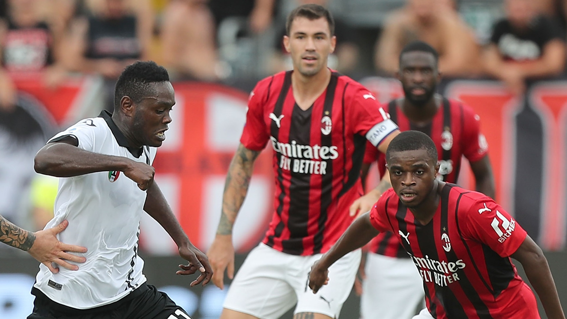Gyasi and Spezia bow to Kessie and Milan in Serie A