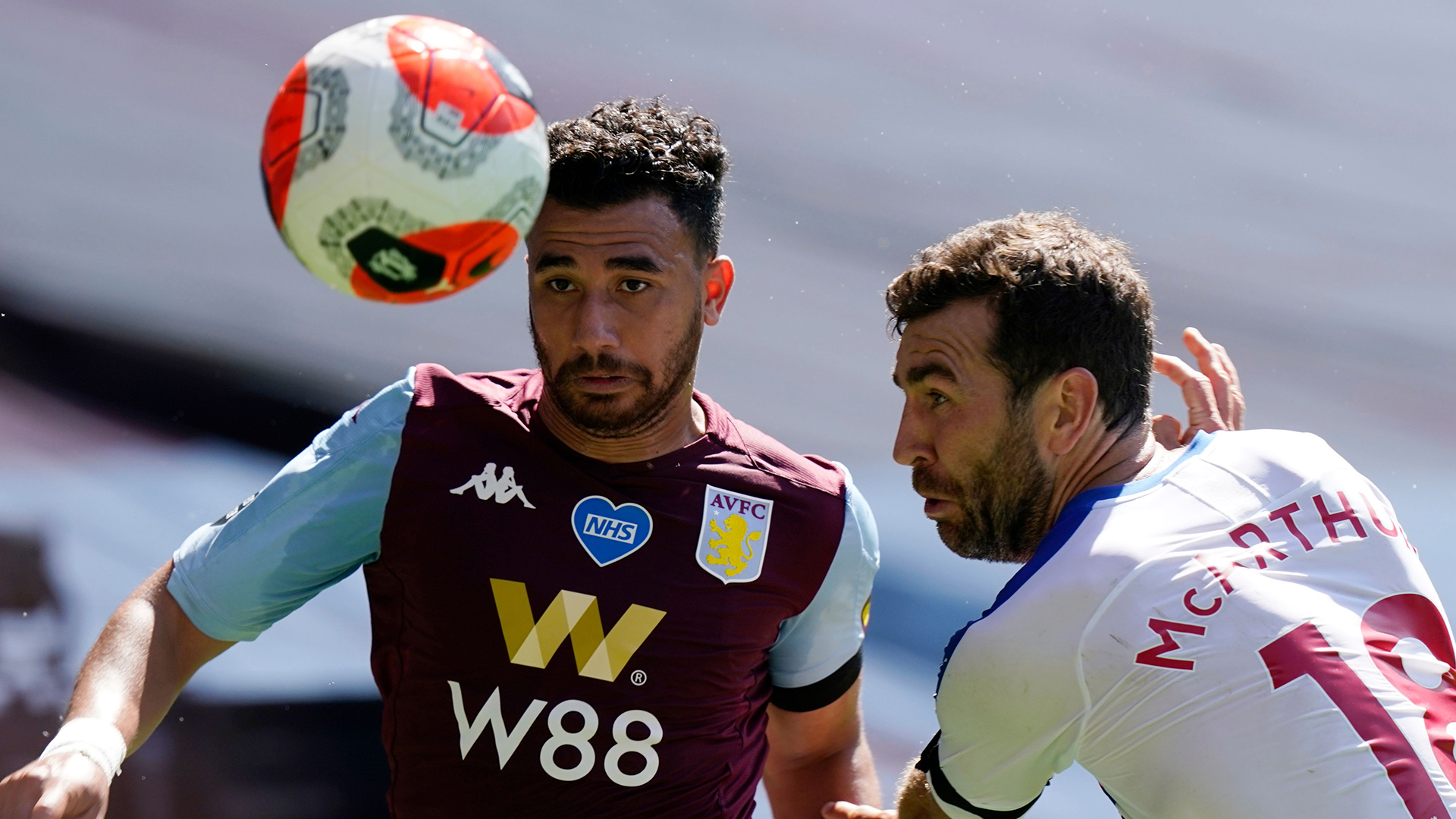 Aston Villa boss Smith offers Trezeguet injury update