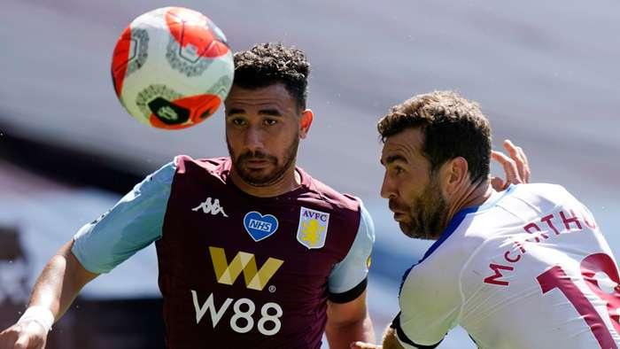 Trezeguet James McArthur Aston Villa Crystal Palace 2019-20