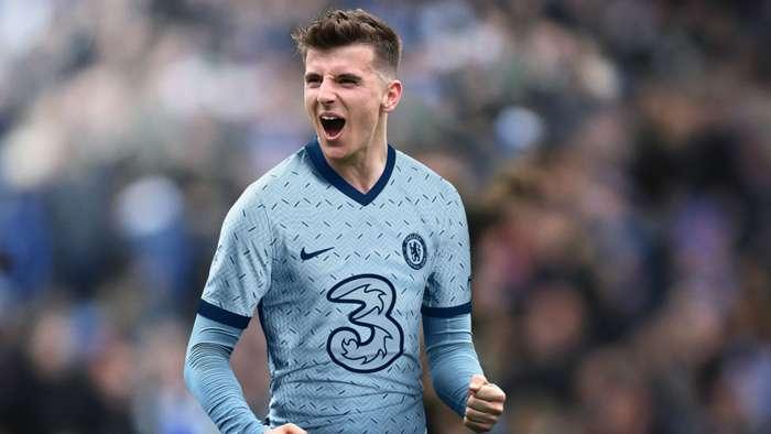 Chelsea away kit 2020-21 Mason Mount