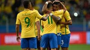 Philippe Coutinho Paulinho Brazil Ecuador Eliminatorias 2018 31082017