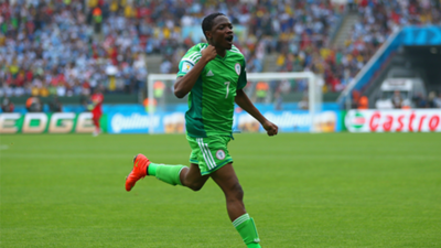 Ahmed Musa Nigeria Argentina World Cup 2018