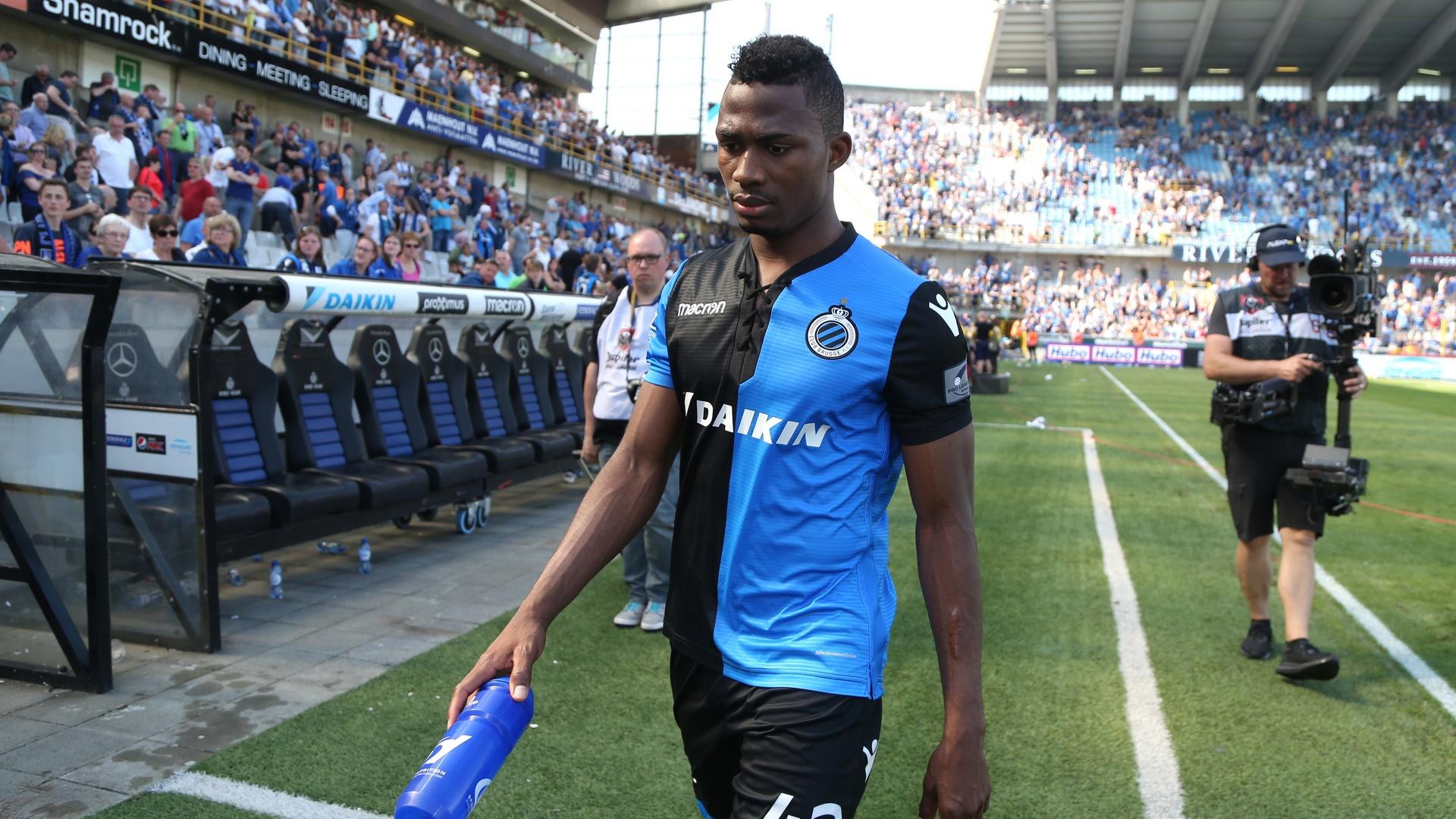 Disgraced Arsenal target Emmanuel Dennis returns in Club Brugge draw