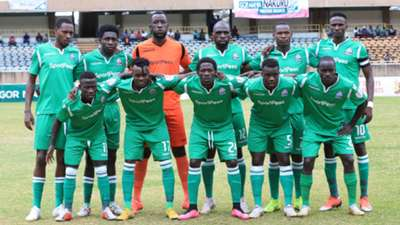 Gor Mahia FC squad v Aigle Noir from Burundi.