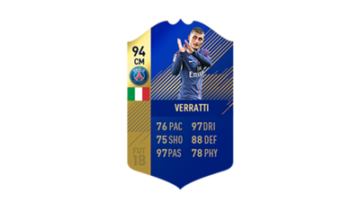 FIFA 18 Ligue 1 Team of the Season Verratti