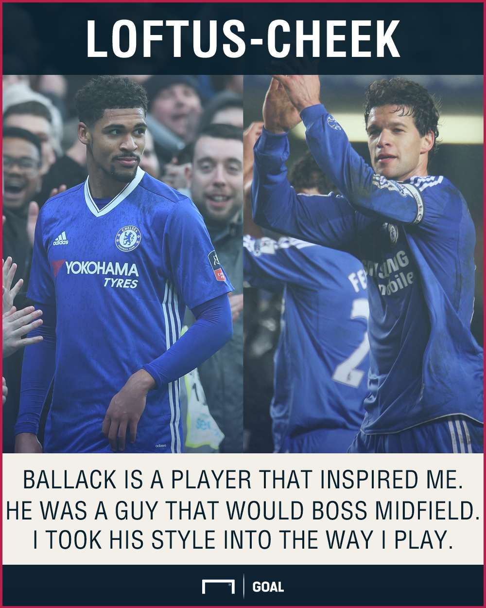 Ruben Loftus-Cheek Michael Ballack Chelsea