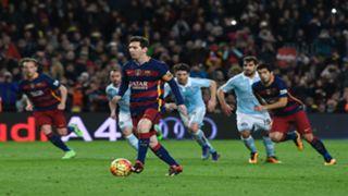 Messi Suarez penalty