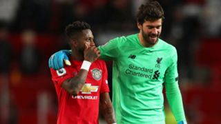 Fred Manchester United Alisson Liverpool