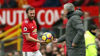 Juan Mata Jose Mourinho