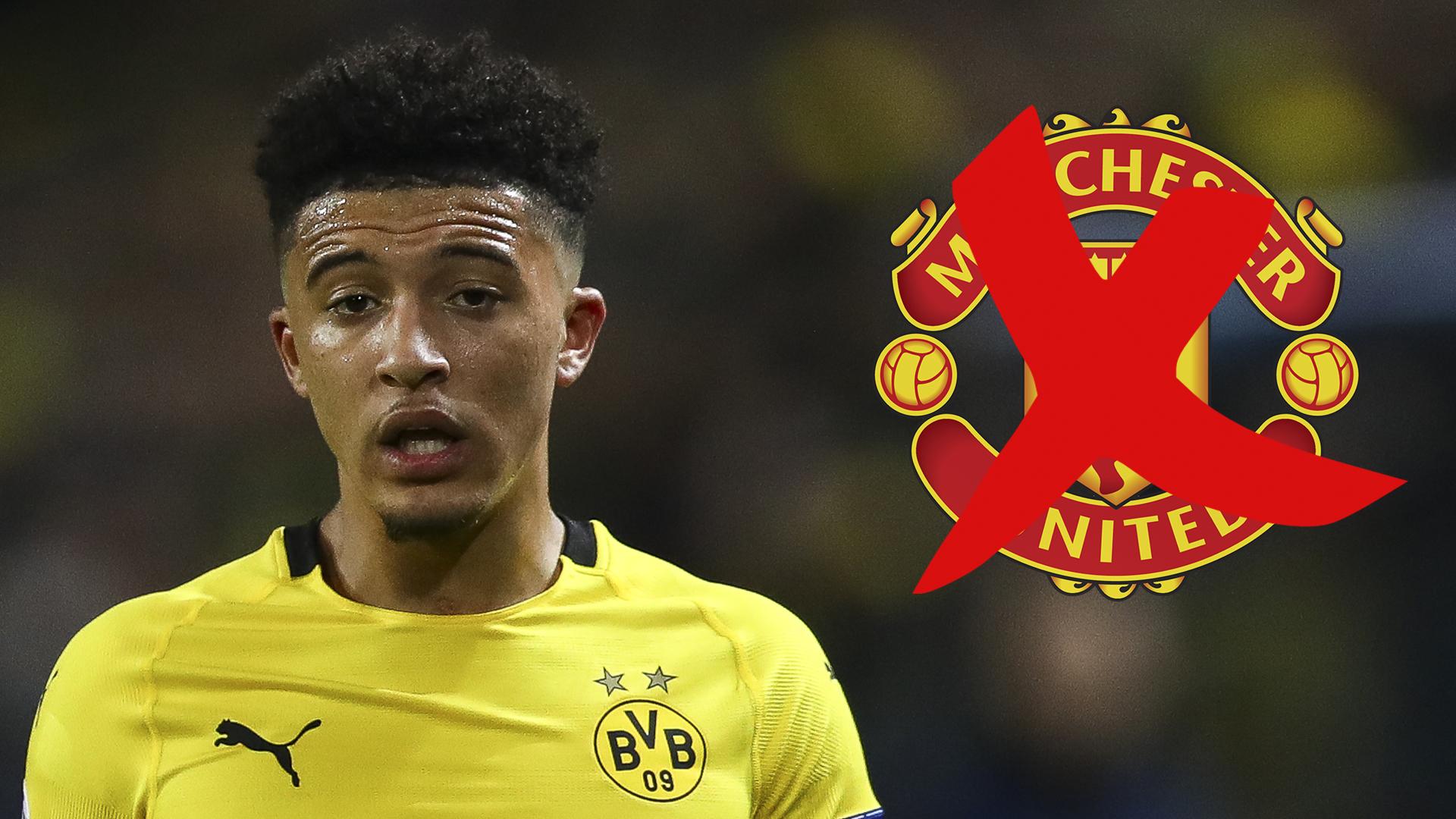 Jadon Sancho transfer news: Man Utd warned by Borussia ...