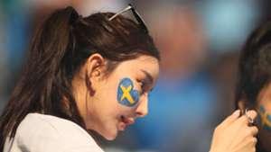 美女サポワールドカップ_スウェーデンvsスイス_スウェーデン2