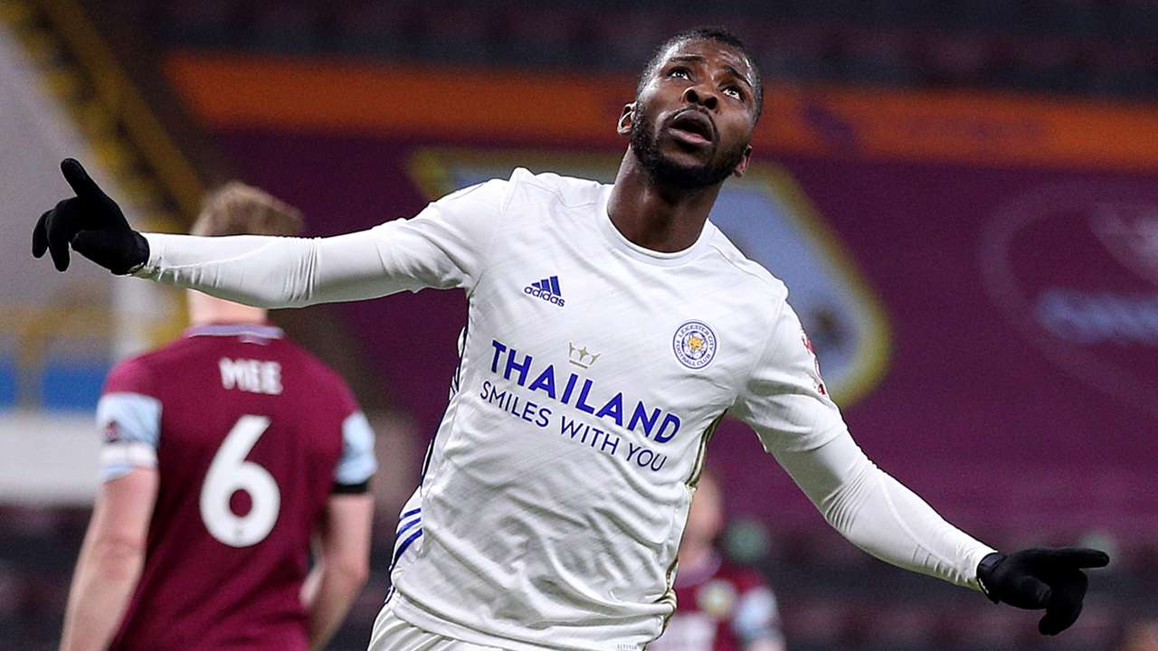 Kelechi Iheanacho, Burnley vs Leicester, Premier League 2020-21
