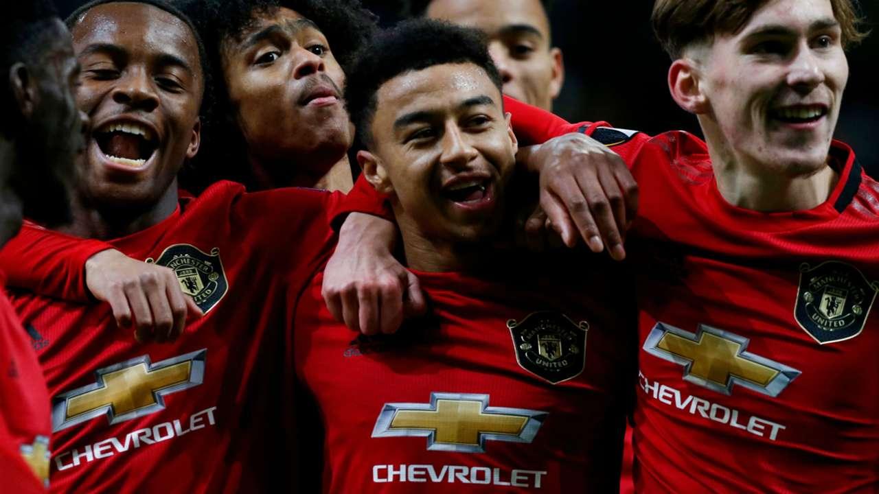 Jesse Lingard Manchester United 2019-20