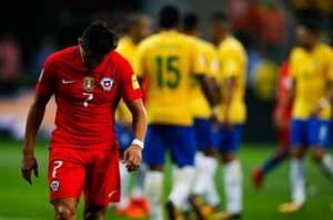 Alexis Sanchez VS Brazil