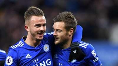 James Maddison Jamie Vardy Leicester City 01122018