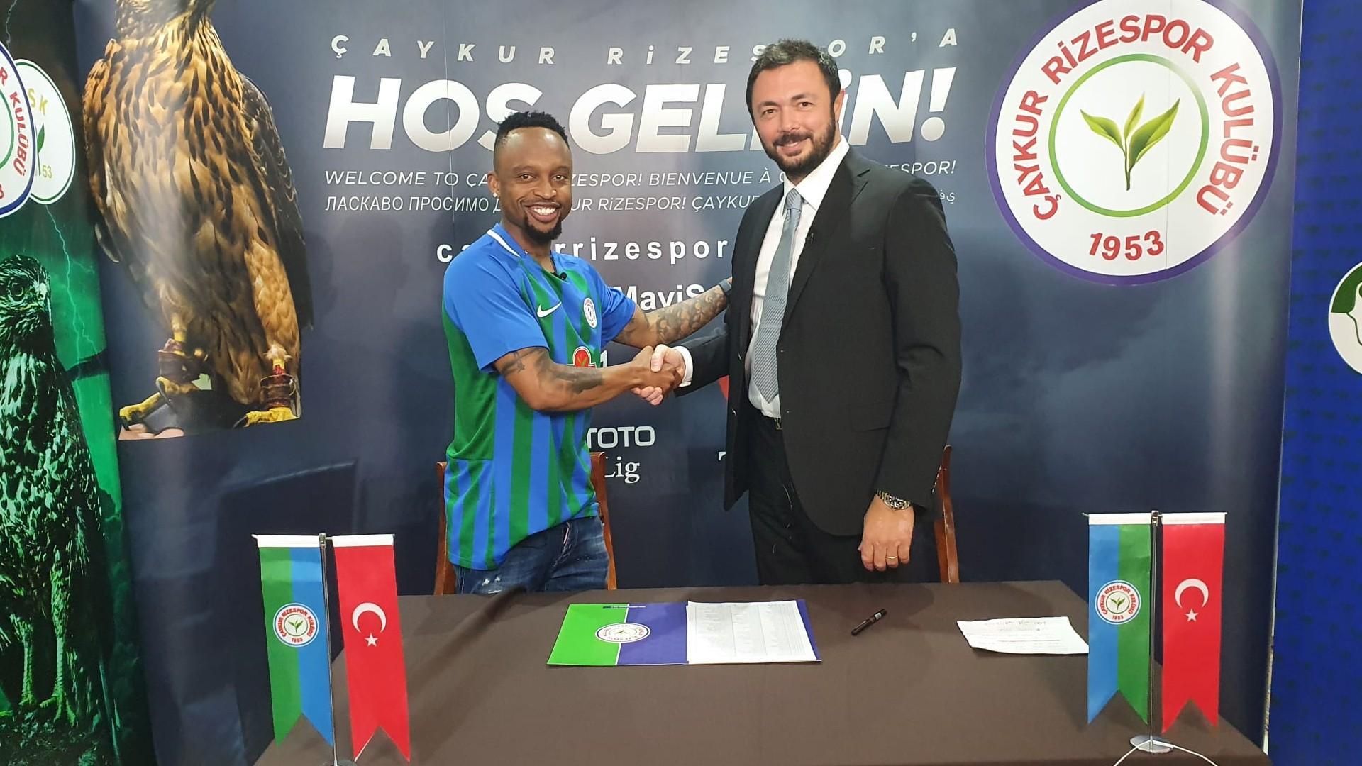 Lebogang Phiri: Caykur Rizespor sign ex-Guingamp and Bafana Bafana star